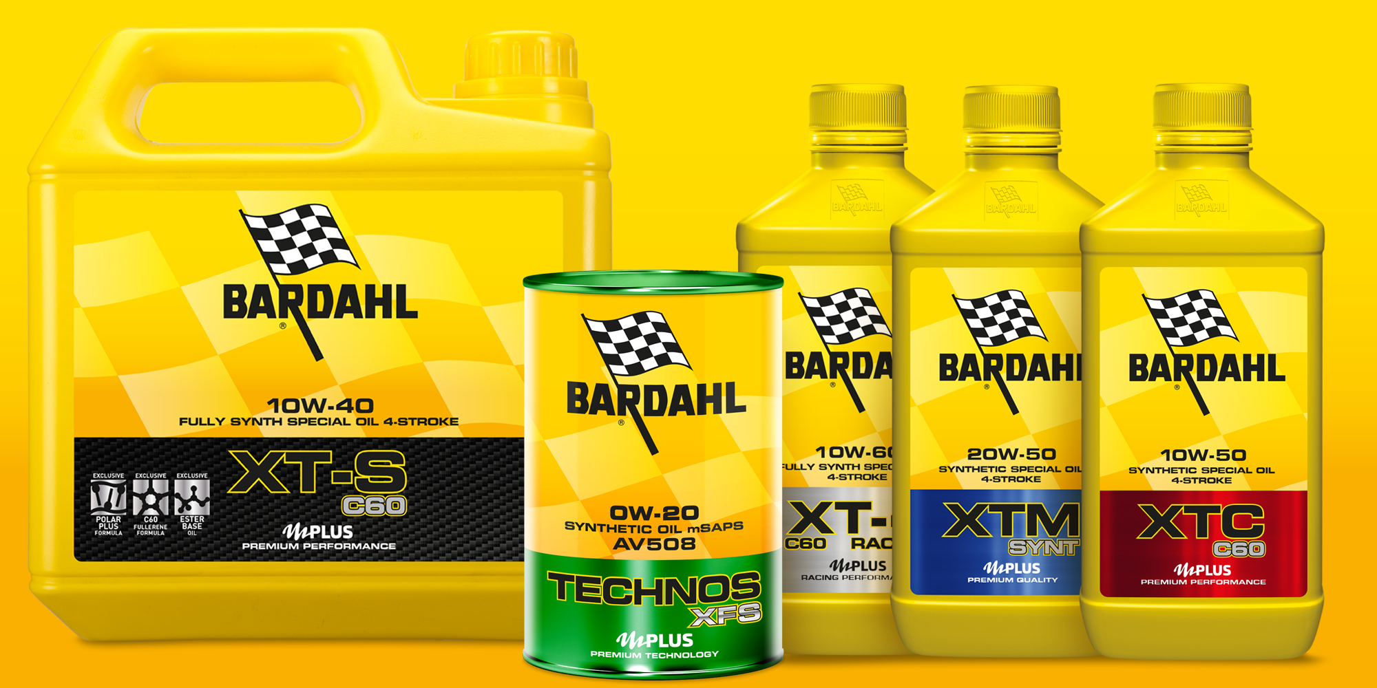 Bardahl packaging design