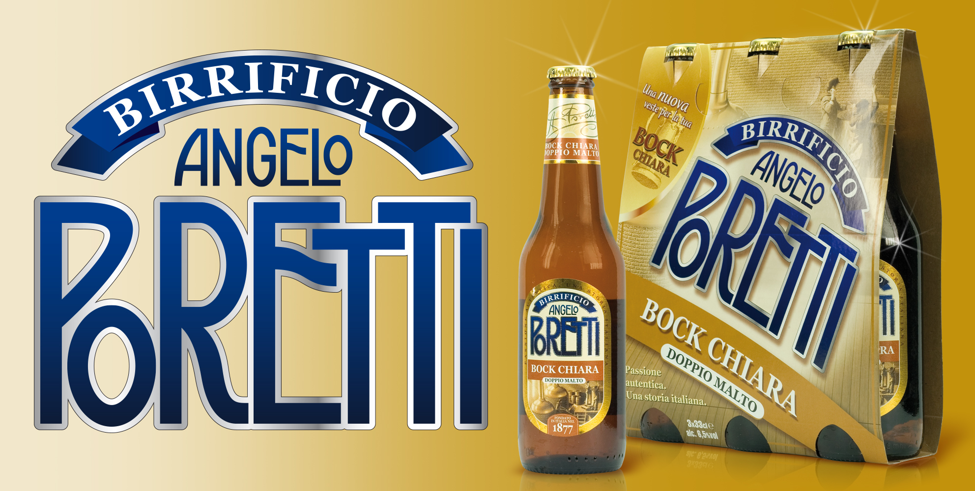 PORETTI_birra packaging design