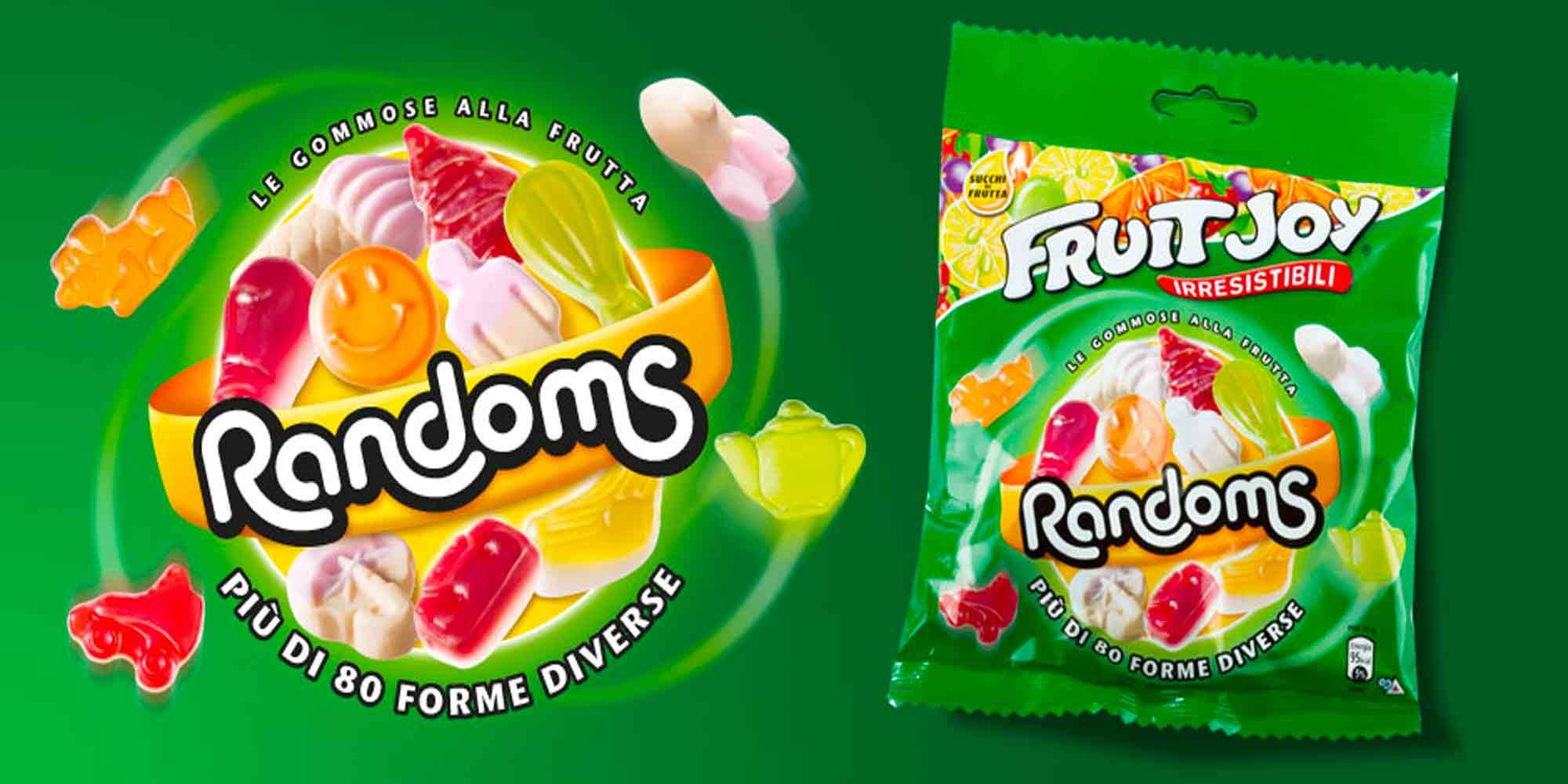 RANDOMS nestle packaging design Fruit Joy