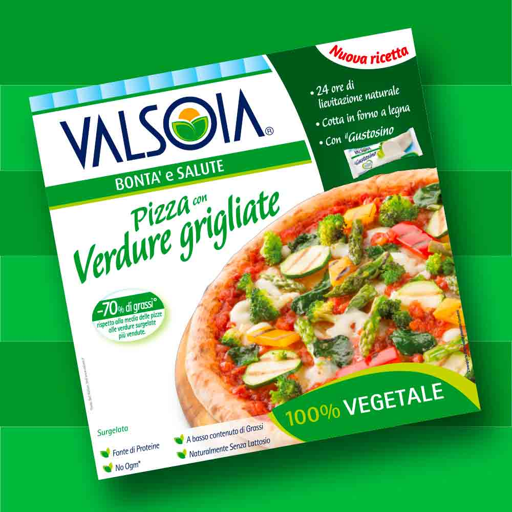 brand packaging design valsola pizza