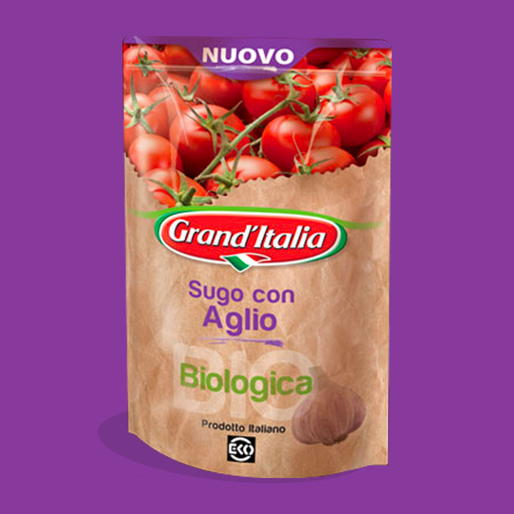 visual art group brand packaging design grand'Italia gb food