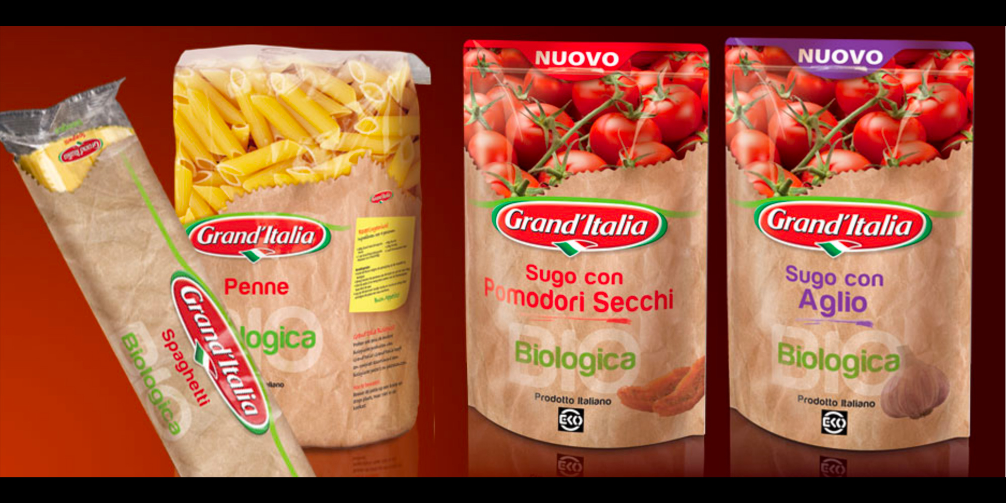 granditalia-sughi packaging design Visual art group